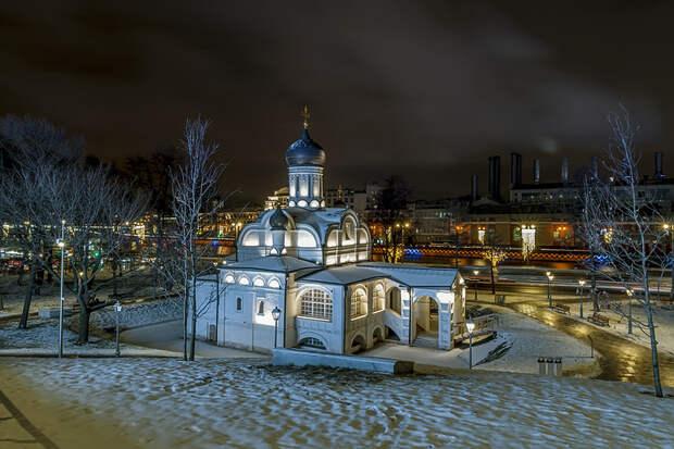 Церковь Зачатия Анны, что в Углу (парк Зарядье)
