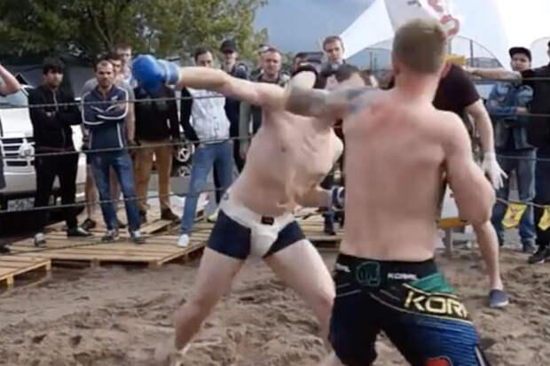 ВДВ-боец столкнулся с чемпионом ММА: армия на ринге