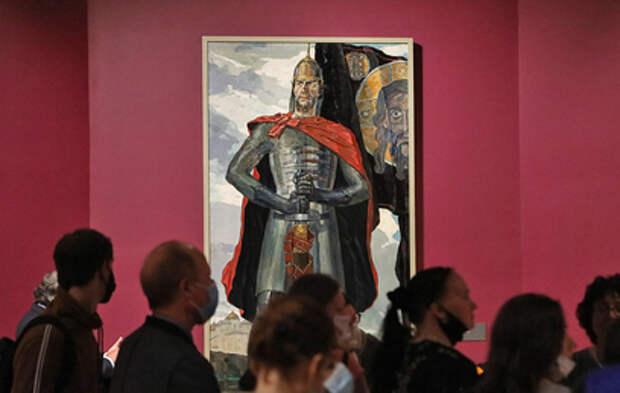 В Новой Третьяковке открывается выставка к 800-летию Александра Невского