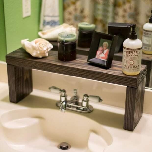 20+ оригинальных и неожиданных идей применения деревянных досок в ванной