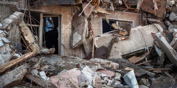 В школе в Приморском крае рухнула стена