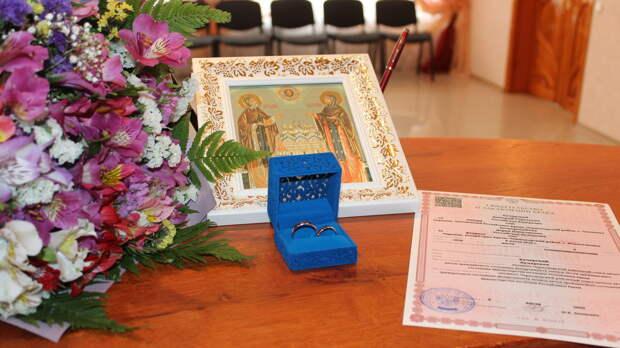 В Крыму с начала года поженились 1000 пар