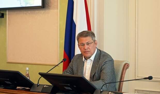 Радий Хабиров дал главам районов неделю на улучшение показателей вакцинации