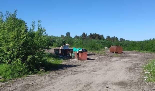 В поселках Паданского поселения начали появляться долгожданные мусорные контейнеры