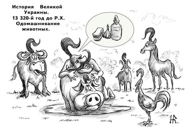 Мифы о древних украх, которые выкопали Черное море, изобрели колесо, плуг и приручили лошадь: чему учат украинских школьников