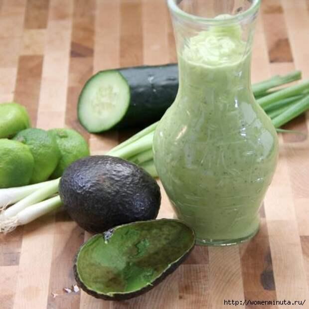 Соус для заправки с авокадо