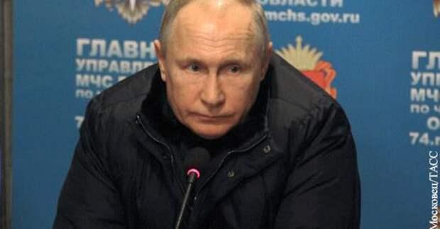 Путин призвал россиян в Новый год помянуть жертв трагедии в Магнитогорске