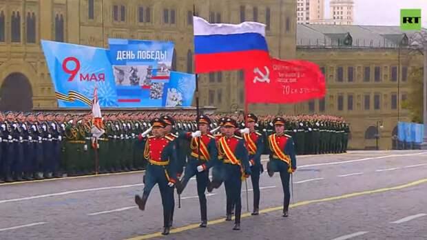 76-я годовщина: Парад Победы на Красной площади в Москве