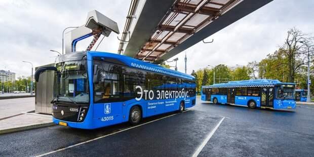 Юбилейный 700-й электробус начал курсировать через район Лефортово