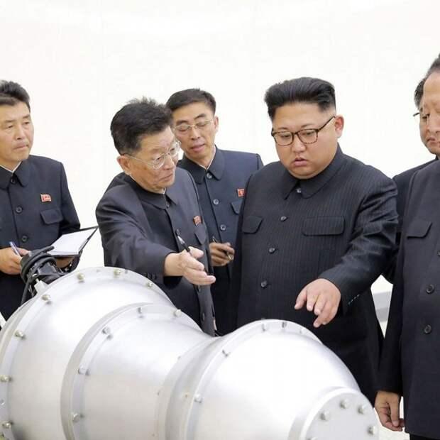 Ударный кулак Сонгун: Ядерное оружие КНДР