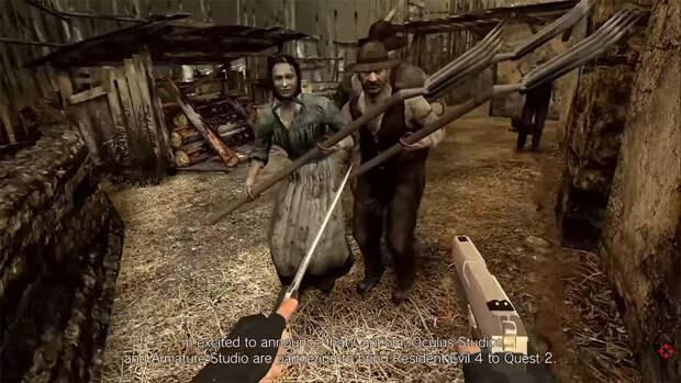 Культовую Resident Evil 4 перевыпустят в VR