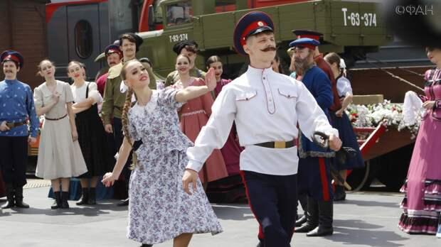 Ретро-поезд «Победа» побывал в Ростове