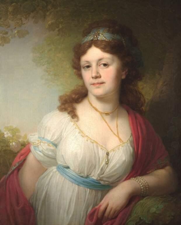 Елизавета Тёмкина, дочь Екатерины II.