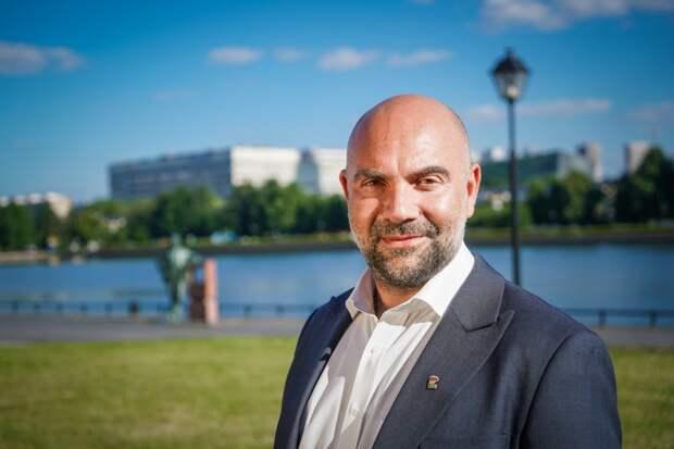 Тимофей Баженов отметил международное значение и большой потенциал развития ВДНХ / Фото: Максим Манюров