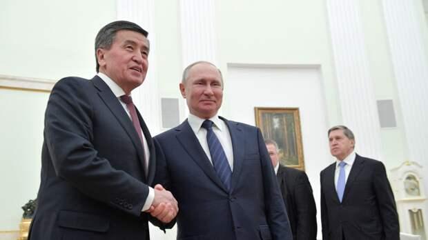 Президент Киргизии заверил, что Бишкек будет надежным союзником России