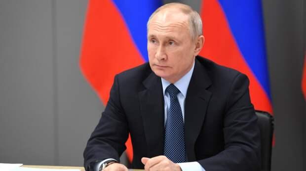 Путин заявил о недопустимости некорректных высказываний со стороны Байдена
