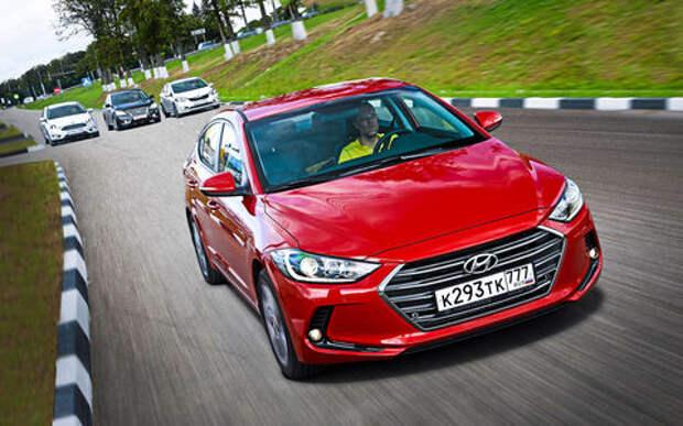 Седаны C-класса: Hyundai Elantra против конкурентов