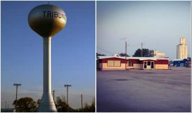 В небольшом городке Tribune можно получить льготы по студенческому кредиту (штат Канзас, США).