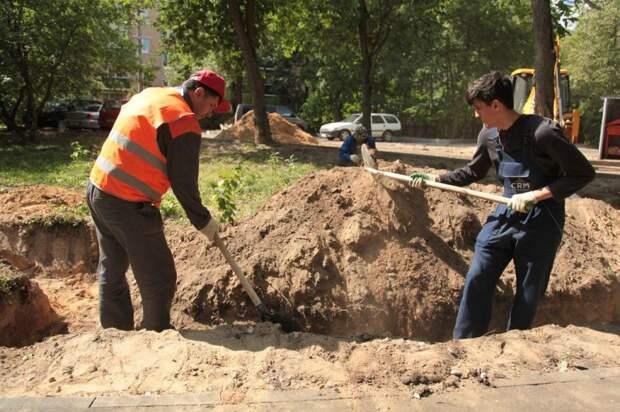 Территорию на улице Сайкина восстановят после земельных работ до конца года