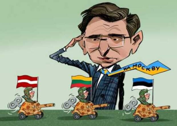 Марш обиженных партнёров, или Нас НАТО любит маловато
