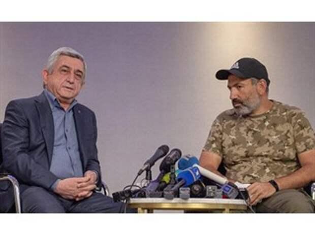 Zham (Армения): Серж отказался сдать 7 районов за 5 миллиардов, a Никол?