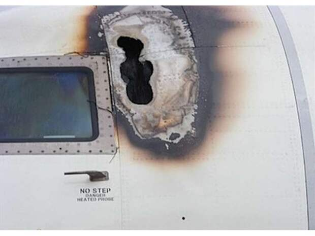 Что будет, если в самолет попадет молния