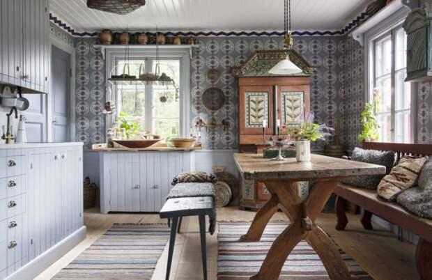 """""""Северный винтаж"""": шведское поместье 17 века, хранящее семейную историю десятков поколений"""