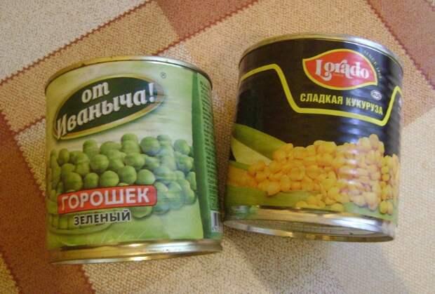 С горошком и кукурузой можно приготовить все: от салатов до риса с овощами / Фото: static.daru-dar.org