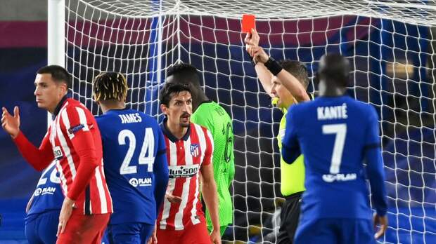 УЕФА на 4 матча дисквалифицировал защитника «Атлетико» Савича