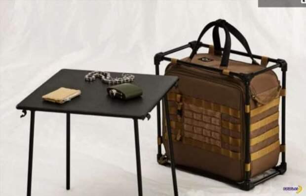 Тактический полевой стол для компьютера