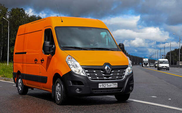 Renault для бизнеса: тест «тонника» Master