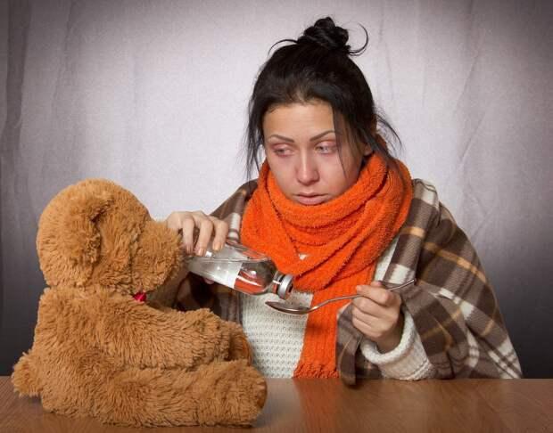 За прошлую неделю в Удмуртии заболело ОРВИ более 11 000 человек