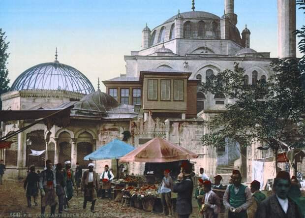 Цветные открытки Константинополя 4