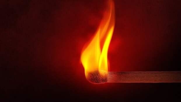 Заброшенные дома загорелись в Московской области на площади 2 тыс. «квадратов»