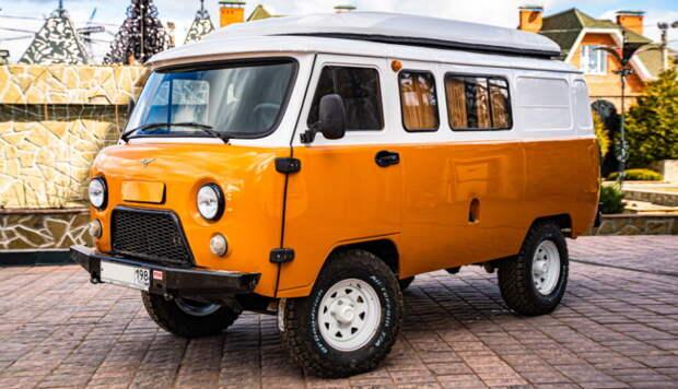 На УАЗе объявили цену автодомов «Байкал» на основе «буханки»