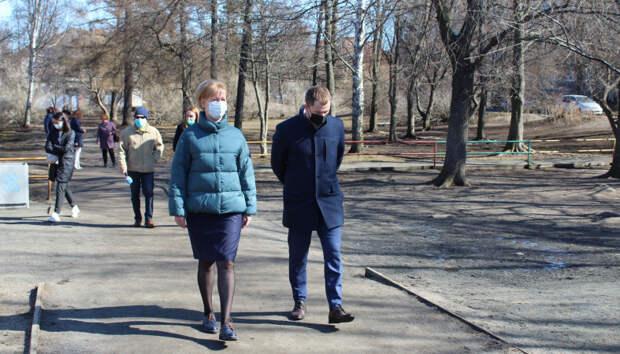 Ирина Мирошник провела выездное совещание на Голиковке