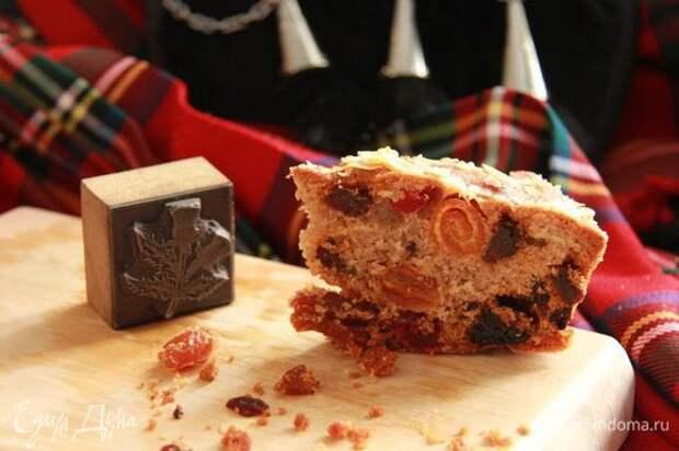 Шотландский кекс «Данди» (Dundee Cake)