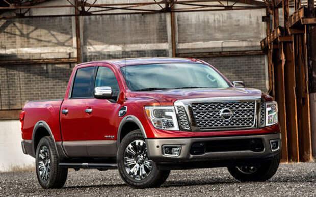 Nissan хочет привезти большой пикап Titan в Россию