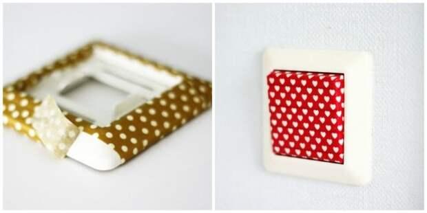 Идеи использования декоративного скотча