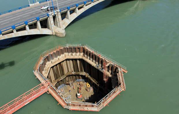 Как осуществляют строительство под водой