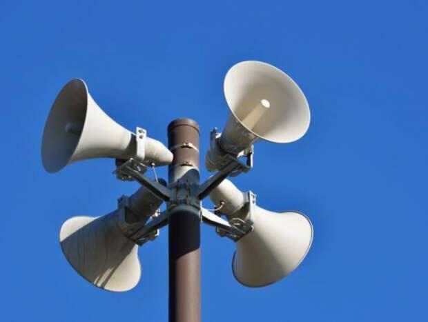 В СВАО проверяют работоспособность линий уличной звукофикации и электросиренных установок