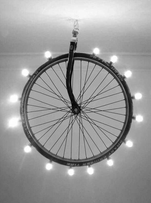 Крутые идеи использования старых запчастей от велосипеда