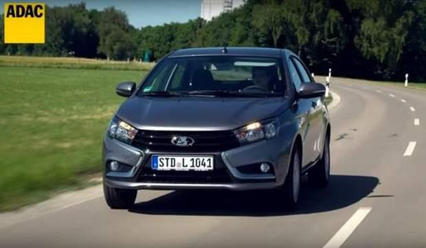 Немцы оценили Ладу Весту выше Renault Sandero