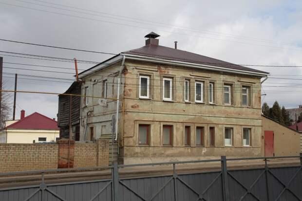 Остатки старинных городских построек