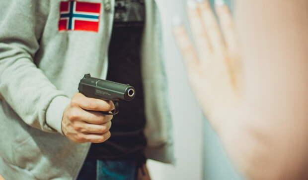 Белгородца посадили заограбление ателье ипродуктового иугрозы пистолетом