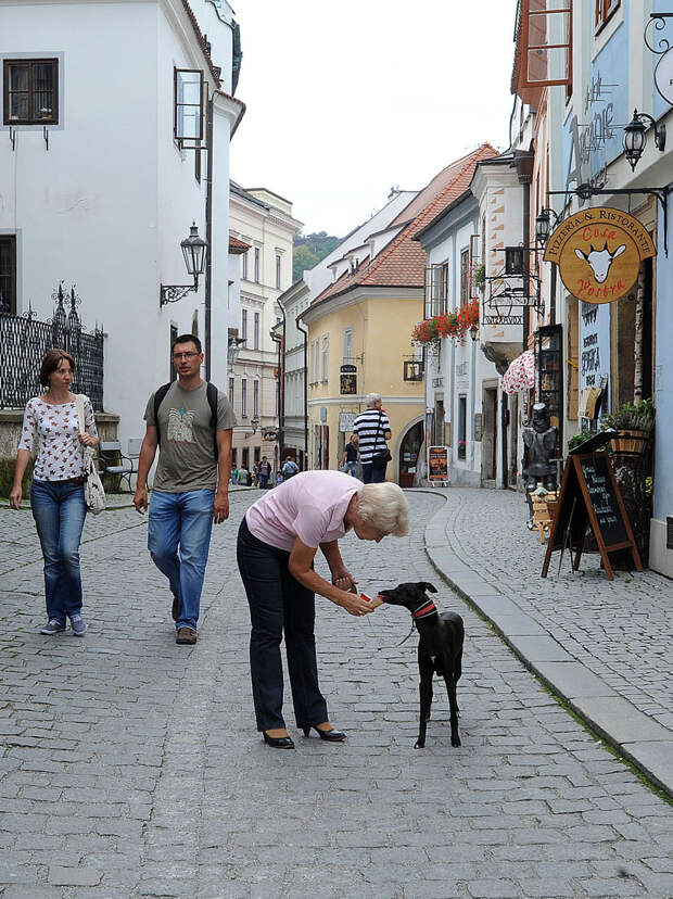 Гуляем по Чешскому Крумлову