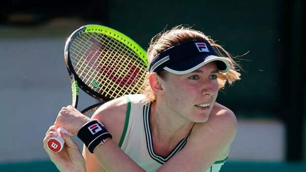 Александрова уступила Пегуле в третьем круге WTA в Риме