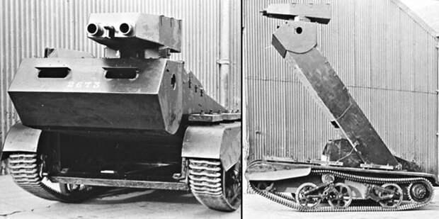 1. Жираф большой, ему видней: танкетка «Богомол» бронетехника, война, вторая мирова война, оружие, приколы, танки