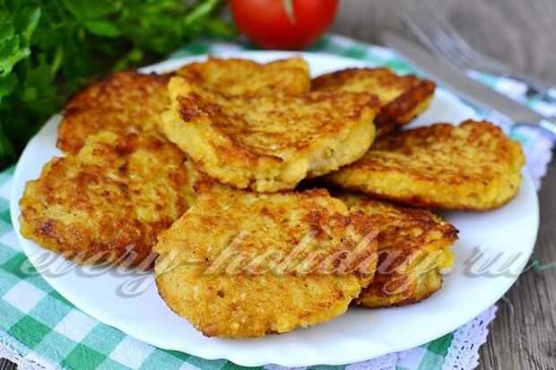 рецепт приготовления капустных оладий