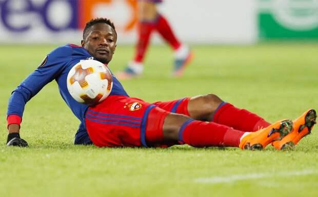 Бывший форвард ЦСКА Муса продолжит карьеру в Нигерии